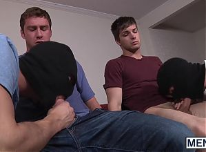 Connor Maguire is inspired to plop down beside Johnny Rapid