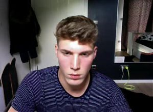 German Very Beautiful Boy,Huge Cock,Tight Pink Asshole