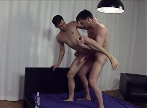 Two hot men fuck each other with big dicks