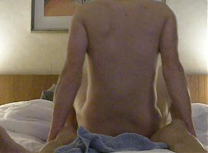 Daddy fucks his willing slutboy bareback let boy cum