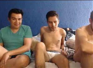 3 guys cum
