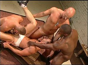 Marc Williams, Kent North, Kyle Lewis and Nick Horn