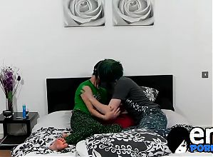 Tyler fucks Alexander with his huge cock after pillow fight