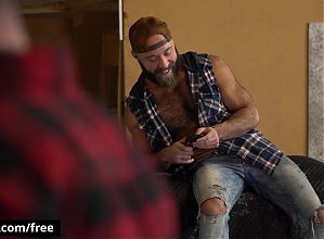The Lumber Yard Scene 1 featuring Jordan Levine and Teddy