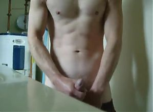 Sagging and Wank his Cock