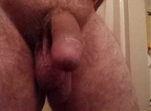 jackmeoffnow thick limp low hanging dick trying to get hard