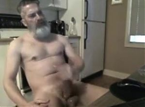 fat cock daddy is horny