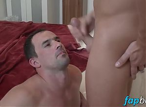 Horny Andy West gets his ass drilled hard by Lucky Smile